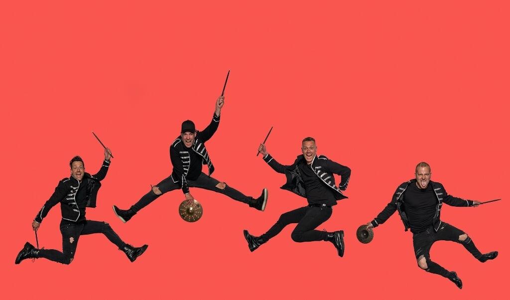 Copenhagen Drummers består af Daniel Hansen, Matthias Brønnum, Morten Specht og Matti Schneider.   (Morten Rygaard)