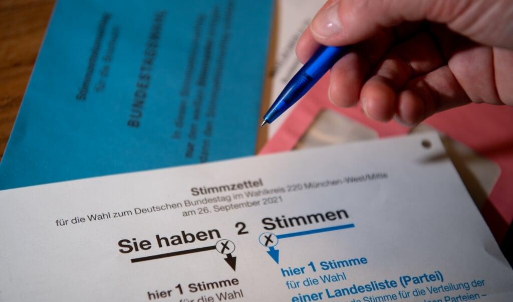 Generelt er interessen for at brevstemme stigende i hele Tyskland i forbindelse med det kommende valg til Forbundsdagen.    (Sven Hoppe/dpa)