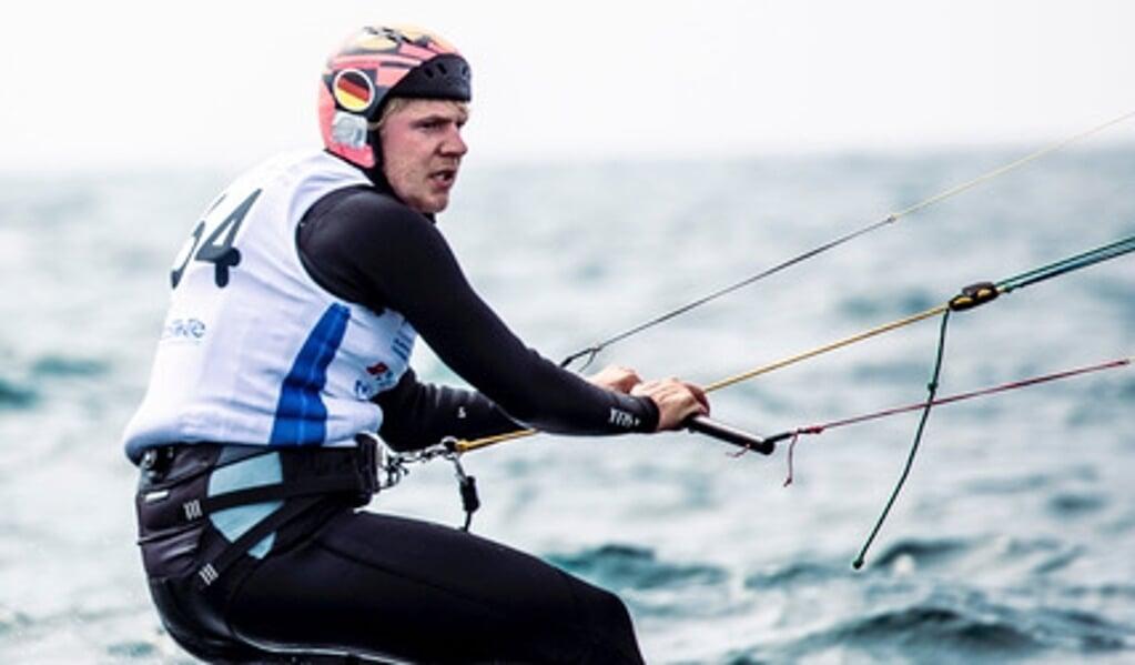 Jan Hauke Erichsen war bei der Kitefoil-Europameisterschaft mit seiner Leistung nicht zufrieden.  (Privatfoto)