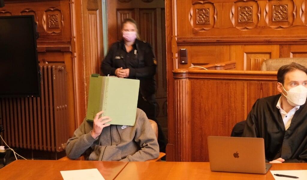 Allerede på første retsdag erkendte den 20-årige det dræbende knivstik.   (Heiko Thomsen)