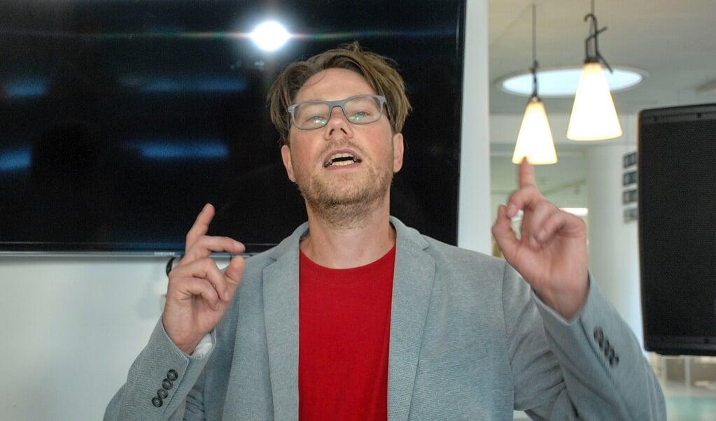 Den danske slammer Peter Dyreborg medvirker i Kühlhaus i Flensborg.   (Hans Christian Davidsen)
