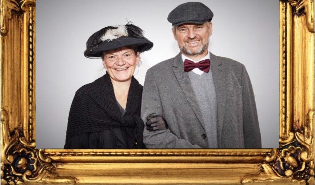 Hilke Rudolph og Rolf Peter Petersen kommer til Lyksborg med deres nye stykke.   (PR)