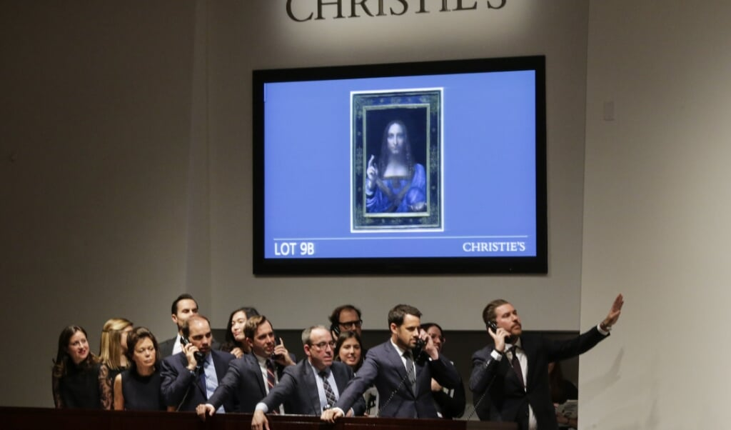 """Kunstværket """"Salvator Mundi"""" blev solgt for en enorm sum i 2017.   (Arkivfoto: Eduardo Munoz Alvarez, Ritzau Scanpix)"""