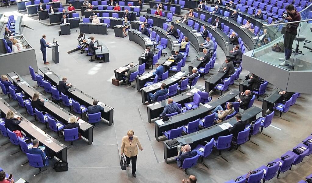 Taletiden i Forbundsdagen vil være ret begrænset for et SSW-medlem.   (Arkivfoto: Michael Kappeler, dpa)