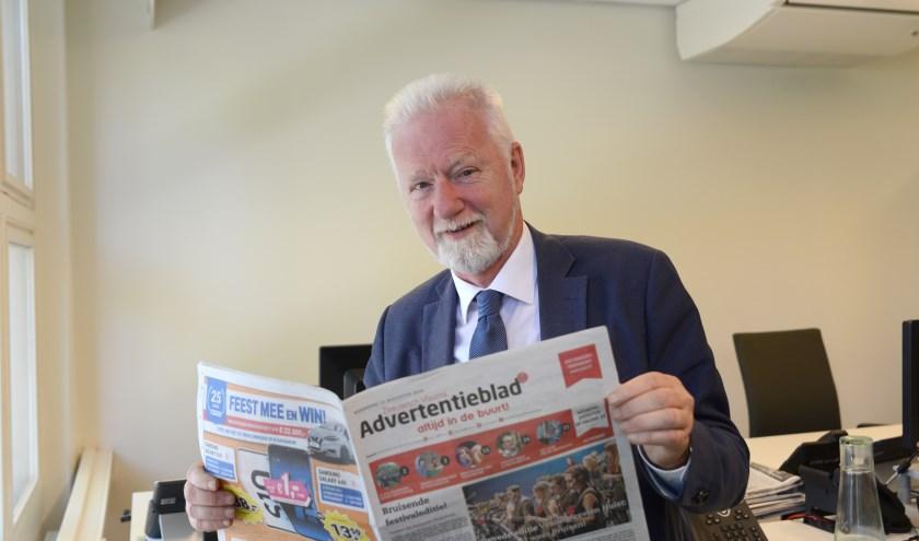 ZVA-chef Walter de Moor gaat per 1 september met pensioen. Foto Peter Verdurmen