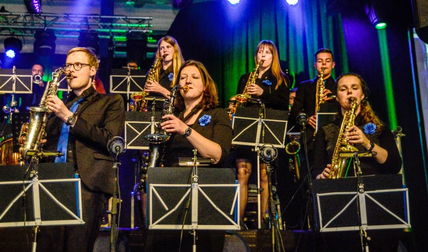 Orkest The Young Ones. Foto: Upside-downphotography.
