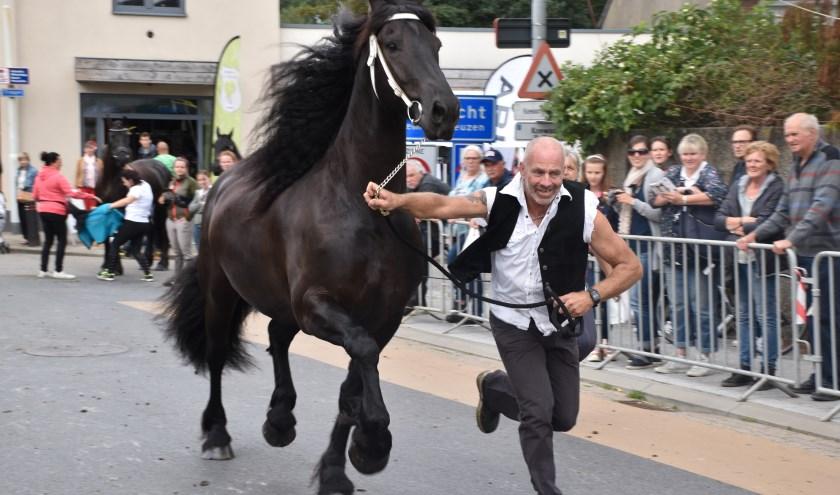 Paardenliefhebber Rik De La Ruelle. Foto Marnik Cooreman