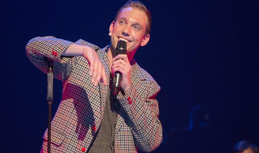 Cabaretier Martijn Broekaart geeft benefietvoorstelling voor KiKa. Foto Peggy de Haan