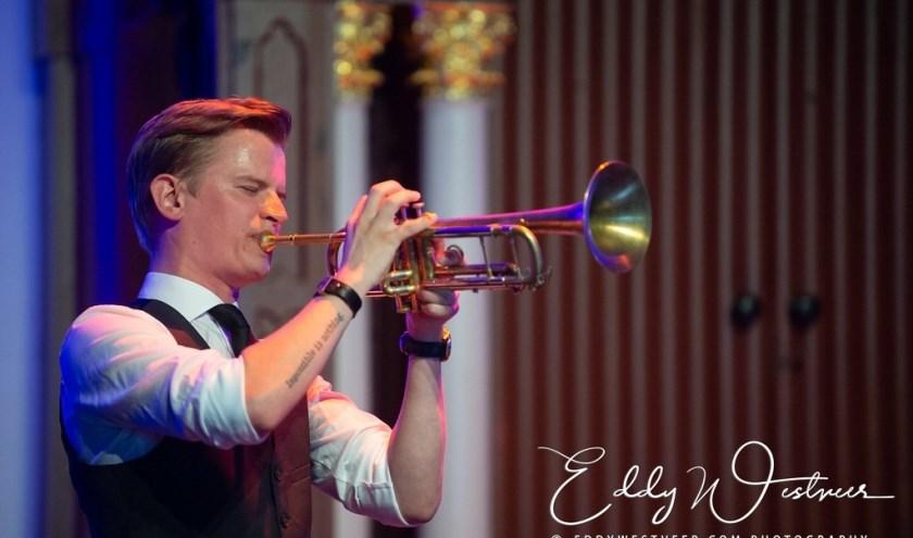 De Nederlandse jazztrompettist Teus Nobel treedt vanmiddag op in Porgy en Bess in Terneuzen.