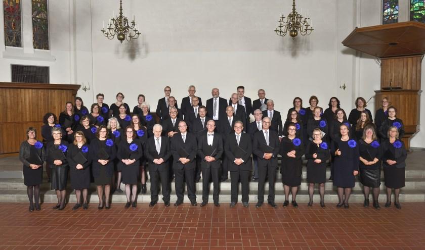 Het koor 'Met Hart en Stem' uit Terneuzen viert dit jaar haar 35-jarig jubileum.