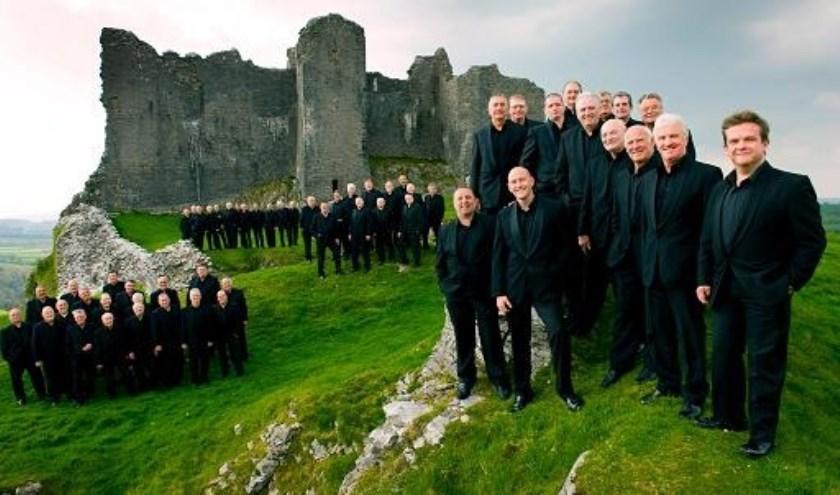 Corrente is door het Treorchy Male Choir uit Wales gevraagd.