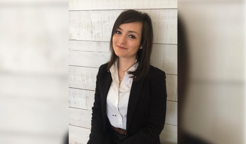 Anne Meerschaert (24) uit Hulst is docent Engels aan het Reynaertcollege in Hulst.