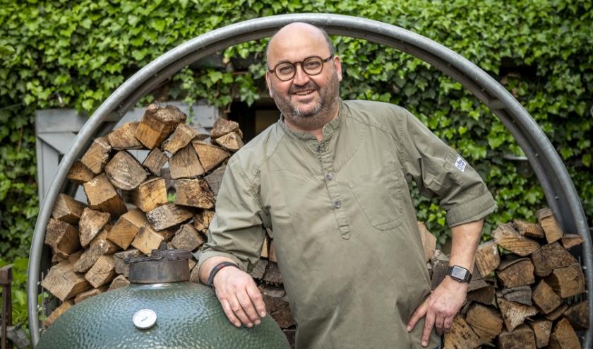 Horecaondernemer Edwin Herman van restaurant A Table in Axel, runt sinds 2019 ook strandpaviljoen Foodjutters in Terneuzen.