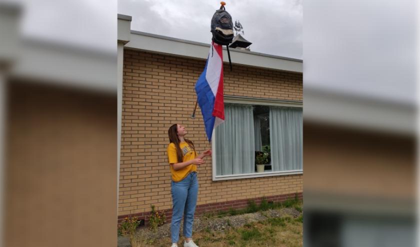 Suzanne Verschurens laatste schooljaar aan het Lodewijk College in Terneuzen is 'gewoon ineens klaar'. Vanaf september gaat ze naar sportschool CIOS in Goes.