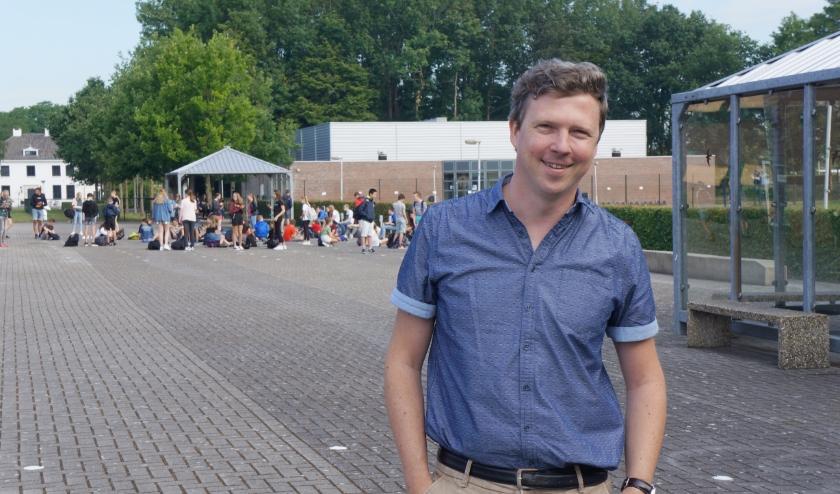 Gorik Hageman, leraar Duits op het Reynaertcollege. Foto Kim de Booij