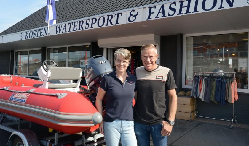 Bianca en Frank Wieme zijn blij dat alles weer op gang komt.