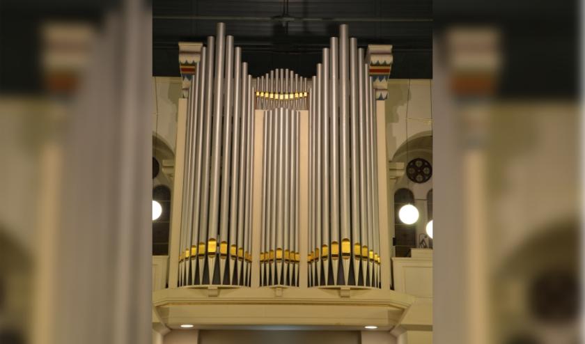 Het orgel van de Grote Kerk in Terneuzen. Foto PR