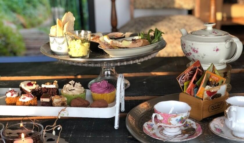 Petra Selis opende in 2014 haar Centrum Qi in de voormalige PSD terminal in Breskens, waar ze o.a. een vegan high tea aanbiedt.