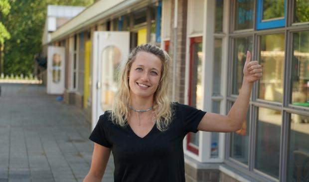 <p>Saskia zet haar fitnessproject voor vrouwen voort</p>