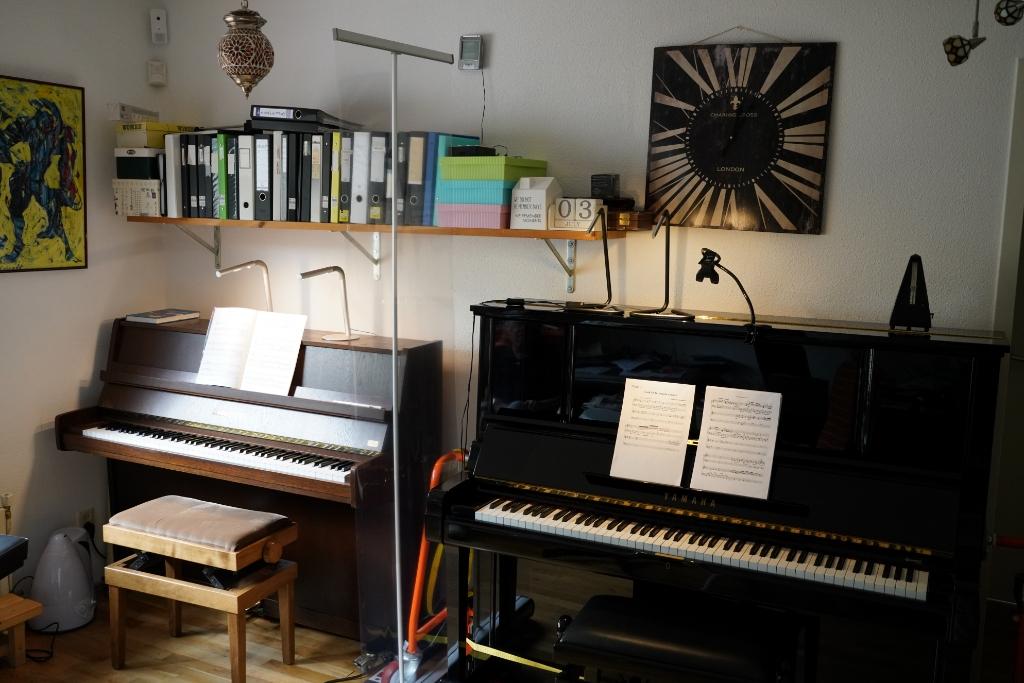De studio is coronaproof Foto: Alex De Vliegere © hbnieuws