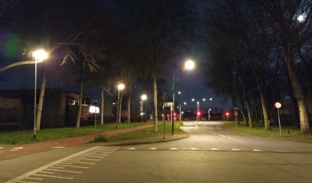 De straten lagen er verlaten bij