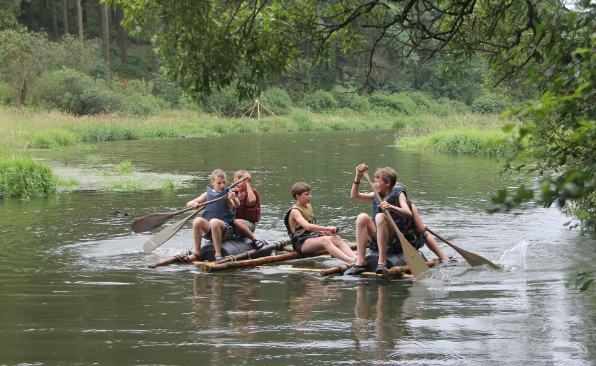 Het volledige protocol voor de zomerkampen is te lezen op www.wegaanopzomerkamp.nl. Foto: Erik Weug