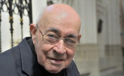 Rector Jan Peijnenburg (1936-2016). (Foto: Jan Peeters, Katholiek Nieuwsblad).