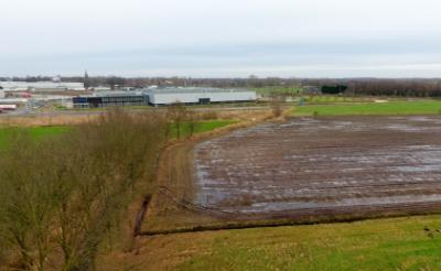 <p>Op bedrijventerrein Vorst B moet in de toekomst GreenTech Park Brabant verrijzen. Die toekomst wordt echter steeds verder vooruit geschoven. (Foto: Albert Stolwijk).</p>