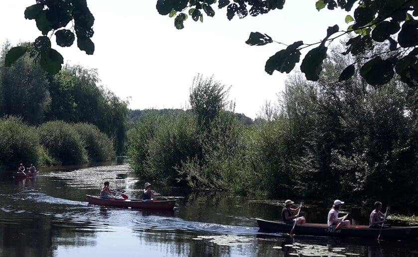 De Pagaai organiseert ook het Rondje Boxtel, een kanotocht over de Dommel. (Foto: redactie).