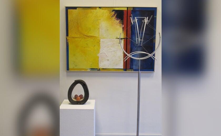 Impressie van een van de werken van de expositie in Museum Boxtel.