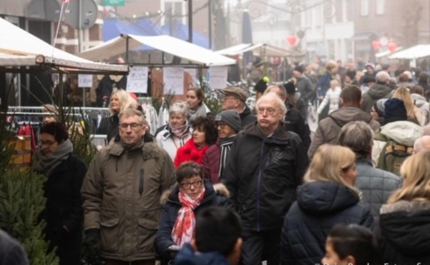 Verleden jaar trok de vernieuwde Kerstfair in Boxtel al veel mensen. Dit jaar is wederom een andere invulling. Foto: Daisy Renders