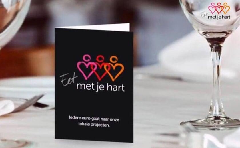 Er doen verschillende restaurants uit de gemeente Boxtel mee, die staan op de website. Foto: Stichting Met je hart.