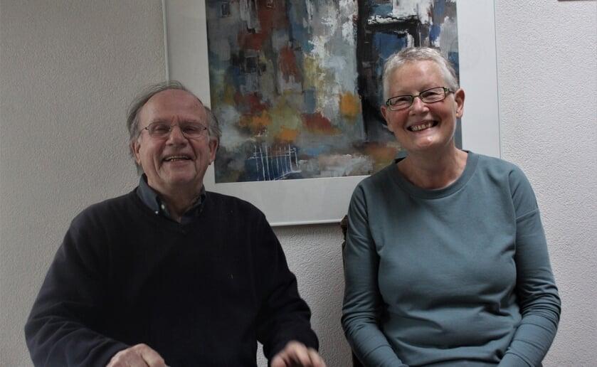 Bij Willem Marcelis en Eline Hermans vielen de puzzelstukjes op hun plek. Ze zijn Bahá'i vrienden. (foto Wendy van Lijssel)