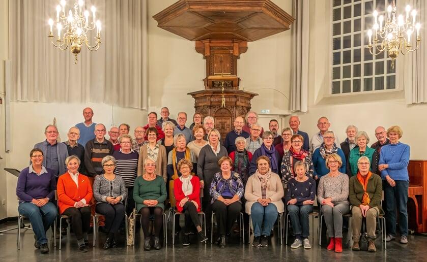 Het koor verzorgt twee concerten. Foto: Rini van Oirschot
