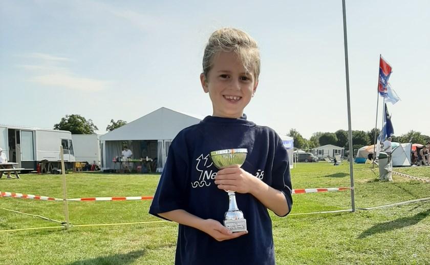Thom van 7 wist de Open Water Wedstrijd te winnen in Lith.