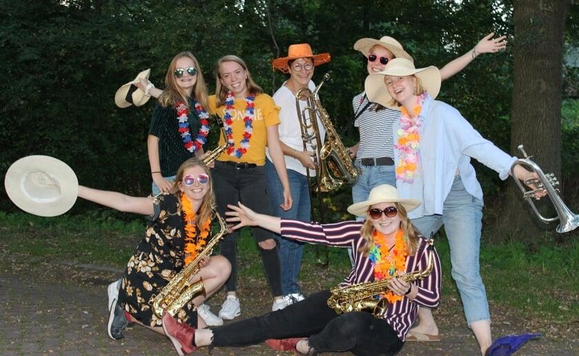 De leden vanLOCOkijken met gezonde spanning uit naar 'Liempde Swingt!'.