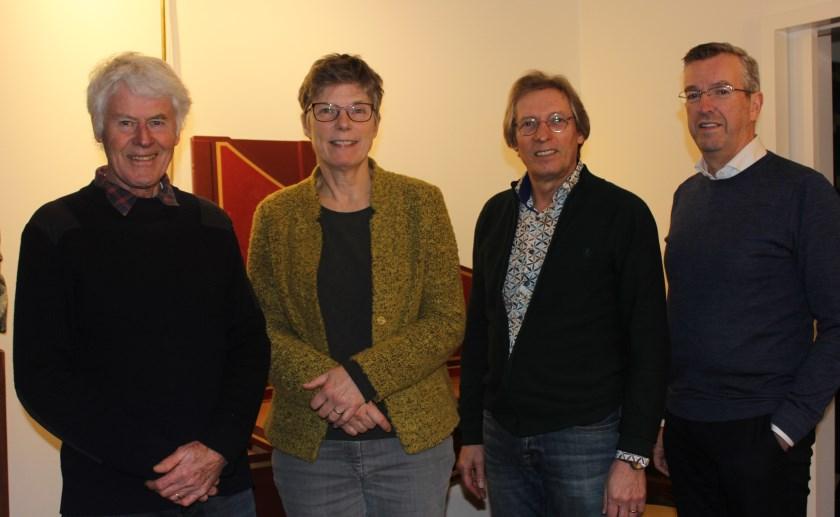 David Andreae, Corrie Terlouw, Maarten Koelink en Laurens Felix laten iedereen meegenieten van Klassiek in de Kerken. Foto Wendy van Lijssel