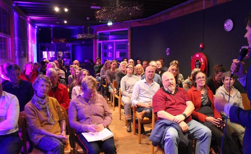 De eerste editie van de Tegenlicht Meet Up in Boxtel.