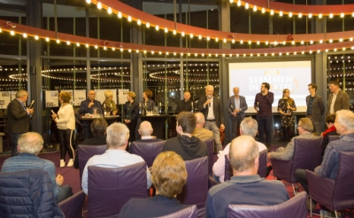 Ook in 2018 hield stichting Brabants Centrum een verkiezingsdebat. Toen kwamen de politici samen in de raadszaal aan de Dr. Van Helvoortstraat. Nu is Podium Boxtel het toneel van de politieke discussies. (Foto: Hans van Doorn).