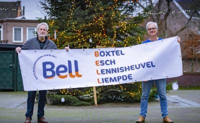 <p>Voorzitter Xaveer van Lokven (rechts) en Paul van Alphen van stichting BELL kijken uit naar de komst van Esch naar Boxtel. (Foto: Bas van den Biggelaar).</p>