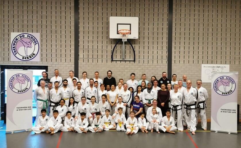 """""""Taekwondo is voor vijftig procent techniek en voor vijftig procent familie, vriendschap en verbroedering."""""""