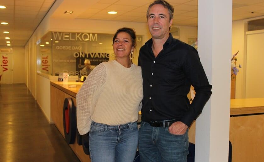 Kathinka en Peter Verzijden van het gelijknamige FMC Verzijden vieren met iedereen het 30-jarige bestaan. Foto Wendy van Lijssel