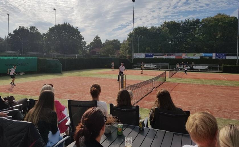 De Open Tennisdag van LTV de Merletten in Boxtel is eind maart.