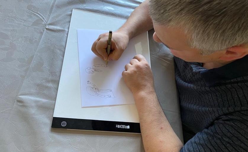 Vanaf volgende week kunnen de avonturen van Joepie van illustrator/tekenaar Ferry Segers gevolgd worden in Meierij Boxtel