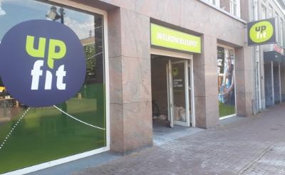 De deuren van sportschool UpFit aan de Rechterstraat openen naar verwachting eind oktober.