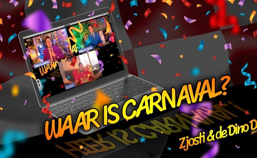 <p>De nieuwe single van Zjosti en de Dino DJ&#39;s is nu te beluisteren via www.waariscarnaval.nl. (Foto: eigen collectie).</p>
