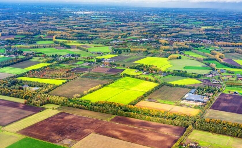 <p>Het Brabantse landschap in het Van Gogh Nationaal Park staat centraal in deze vijfde editie van de Landschapstri&euml;nnale. Foto: West 8.</p>