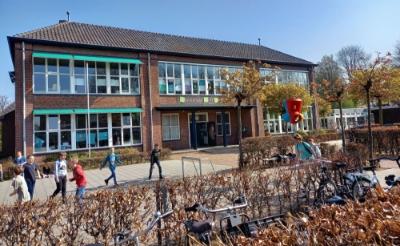 De multifunctionele accommodatie (mfa) in Gemonde krijgt een plek in het gebouw van basisschool Sint-Lambertus. Dorpshuis De Stek gaat deel uitmaken van de mfa. (Foto: Jan Hermens).