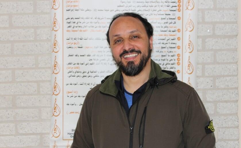 Na de dood begin je echt te leven, aldus Hamid Omair van de Moskee Al-Fath. Foto Wendy van Lijssel