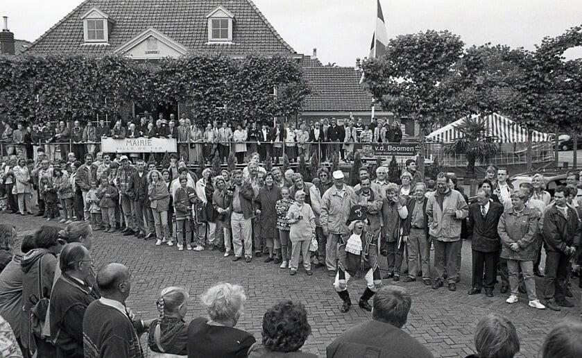 LIempde oftewel Ville de Tap stroomde 25 jaar geleden vol tijdens een doortocht van de Tour de  France. Foto Gerard Schalkx